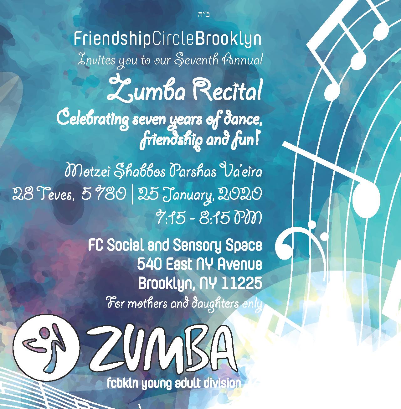 Zumba Recital 5780