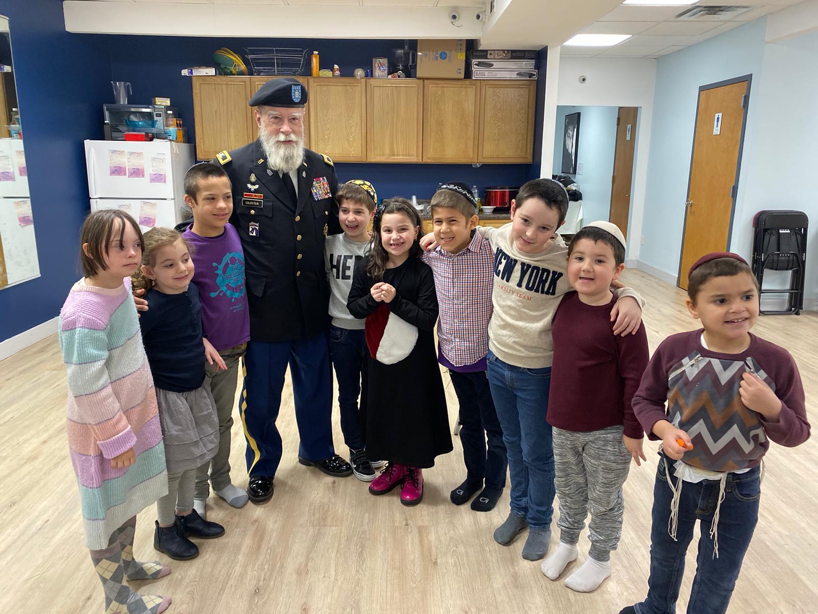 Friendship Circle Meets Community Helpers
