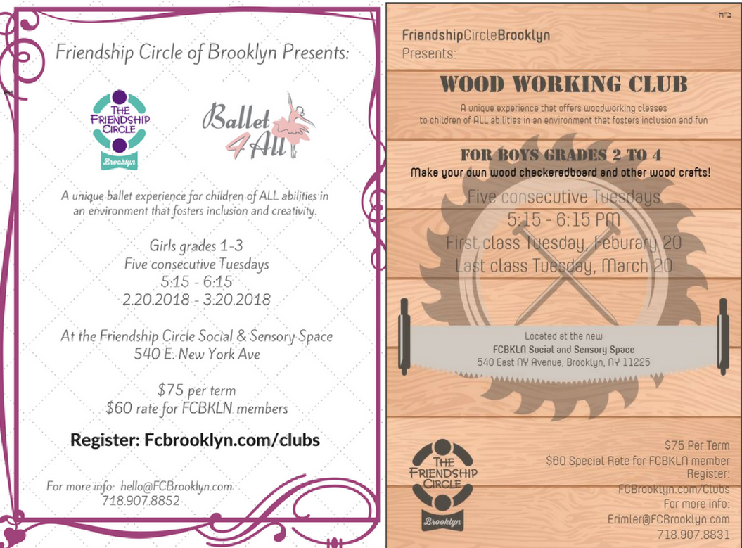Session Two For After School Clubs Friendship Circle Of Brooklyn