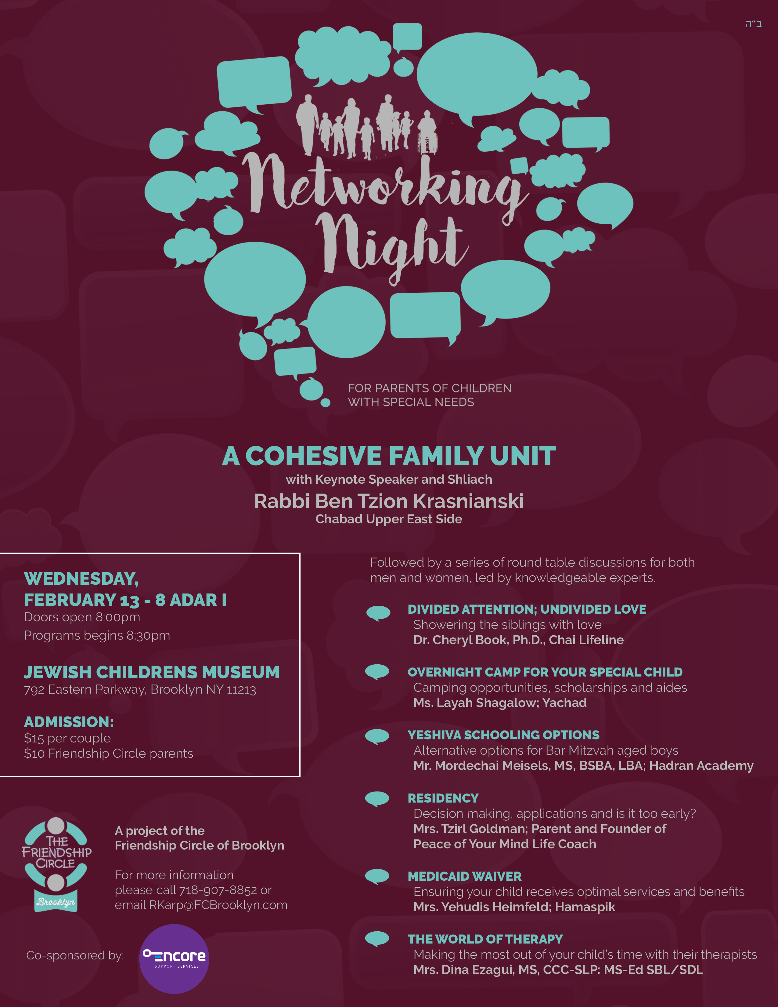 Networking Event for Parents of Children with Special Needs